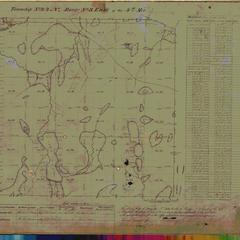 [Public Land Survey System map: Wisconsin Township 44 North, Range 03 East]