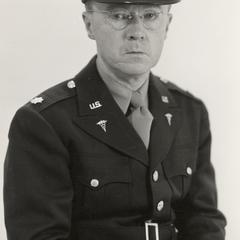 John Bentley in military uniform