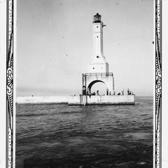 New Port Washington Fog Signal and Light, 1937