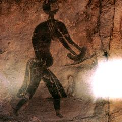 Petroglyph : Human Figure with Loin Cloth