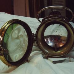 Badger Brass Solarclipse headlight
