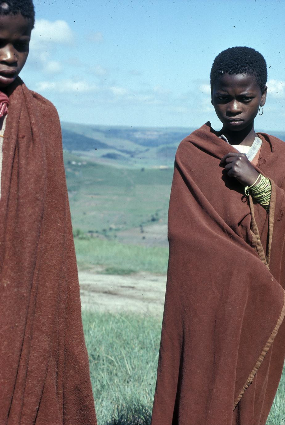 Xhosa Transkei children