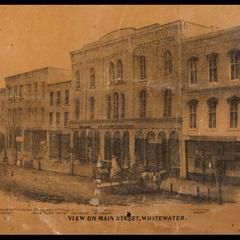 View on Main Street, Whitewater