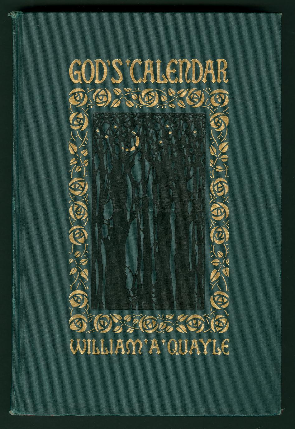 God's calendar (1 of 2)