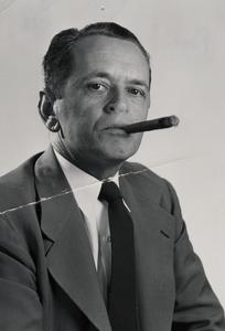 Jesse Boell and cigar