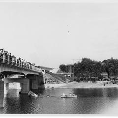 Airplane accident at Four Mile Bridge