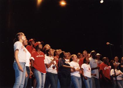 UW Gospel Choir performance