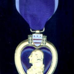 Purple Heart, awarded to Wesley Field