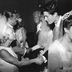 Bruce Leopold's wedding reception