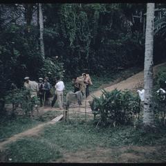 Lao stopping Kammu (Khmu') on path