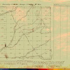 [Public Land Survey System map: Wisconsin Township 18 North, Range 06 East]