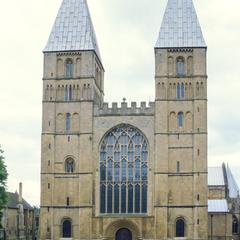 Southwell Cathedral from the west