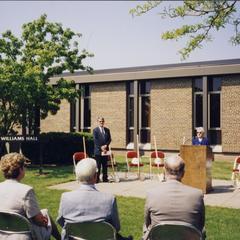 Williams Hall Renovation, Janesville, 1998/1999