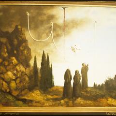 Title Unknown, painting by Octavio Araujo