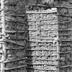 wattle and Daub Construction of Community Clinic