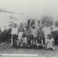 Filipino prisoners of war, Cavite, 1899