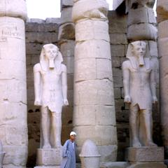 Statues of Ramses II, Luxor Temple
