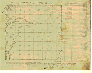 [Public Land Survey System map: Wisconsin Township 24 North, Range 13 West]