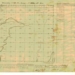 [Public Land Survey System map: Wisconsin Township 24 North, Range 13 West]