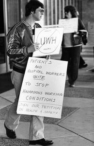UW Hospital protest