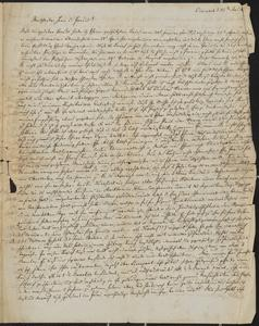 [Letter from Auhendorff to Jakob Sternberger, May 15, 1851]