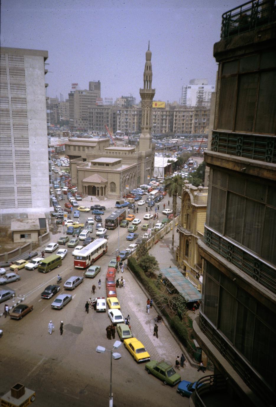 Street Scene in Central Cairo
