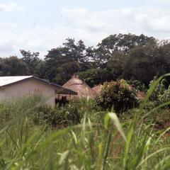 Buildings south of Jos