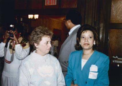 Candace McDowell at Multicultural Reception and Awards ceremony in 1990