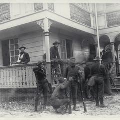 Field hospital of Camp Santa Mesa, Manila, 1899
