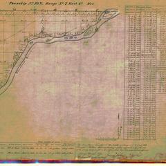 [Public Land Survey System map: Wisconsin Township 10 North, Range 07 East]