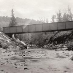 Bridge over Bad River