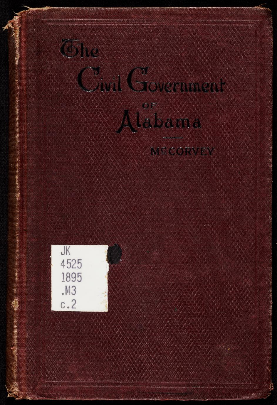 The government of the people of the state of Alabama (1 of 3)