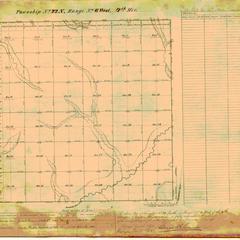 [Public Land Survey System map: Wisconsin Township 22 North, Range 06 West]