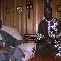 Oba Oladele Olashore and Harrison