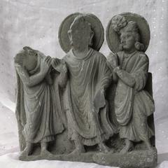 NG457, Buddha and Devotees
