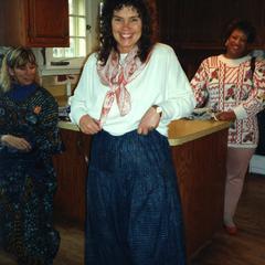 Woman wearing pants