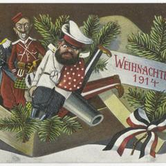 Weihnachten 1914