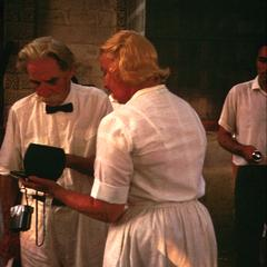 Dr. Albert Schweitzer and a Nurse at Clinic in Lambarene