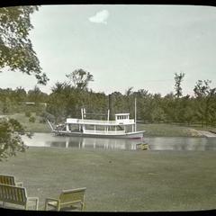 """The """"Suwanee"""" stern wheel steamboat"""