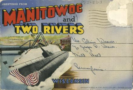 Greetings from Manitowoc and Two Rivers