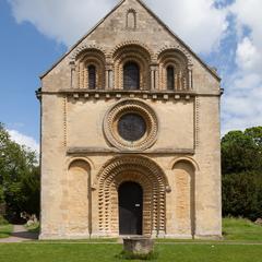 Iffley St Mary Church, west end