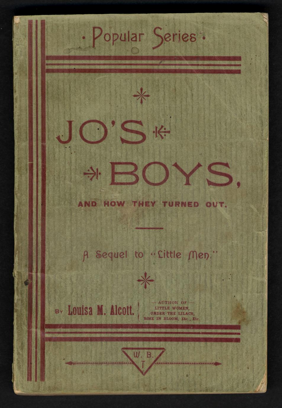 Jo's boys and how they turned out (1 of 3)