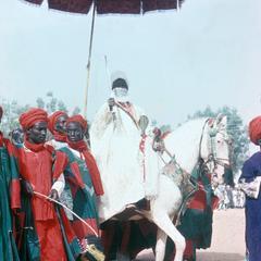 Alhaji Usuman Nagogo, Emir of Katsina, at Big Sallah Celebration
