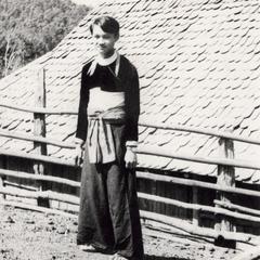 A White Hmong young man in Houa Khong Province
