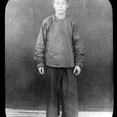 Portrait of Chinese man.