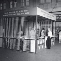 State Fair college education booth