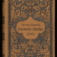 Herman Schmid's gesammelte Schriften; v. 1-2