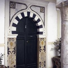 Eighteenth Century Door Showing European Influence