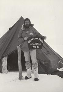 UW Barron County represented in Antarctica 1976-77