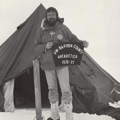 UW Barron County represented in Antarctica 1976-77
